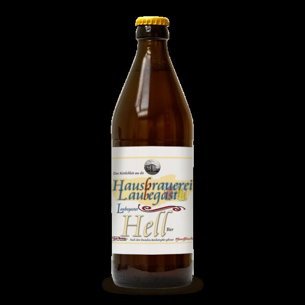 Laubegaster Hell Einzelflaschen