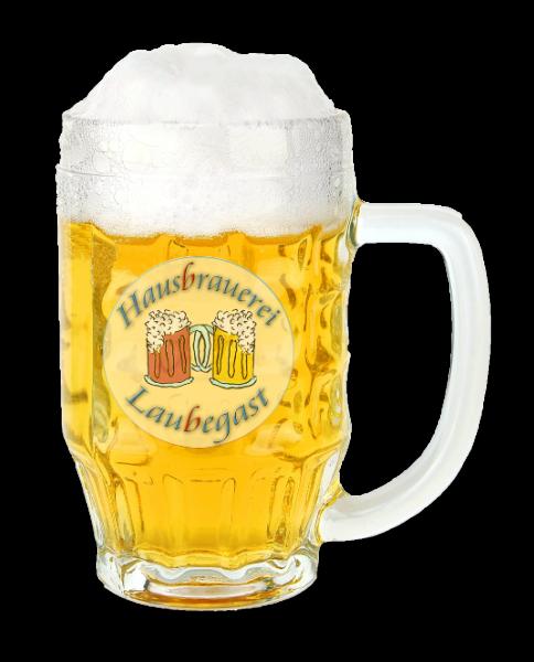 Bierkrug 500 ml Glas